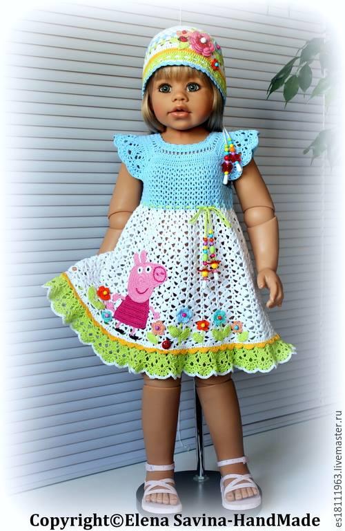 Örgü kız çocuk elbise ve bere modeli