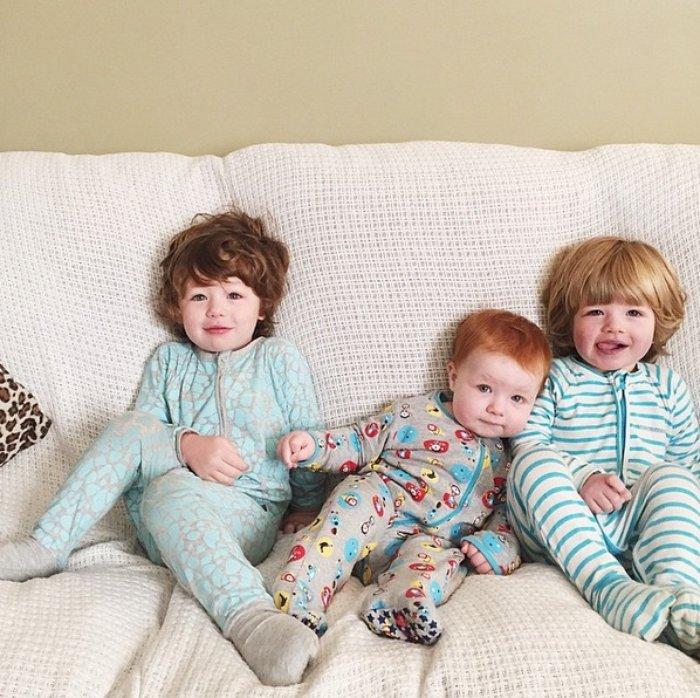2 Chloe ve Rohan çiftinin ilk üç çocukları