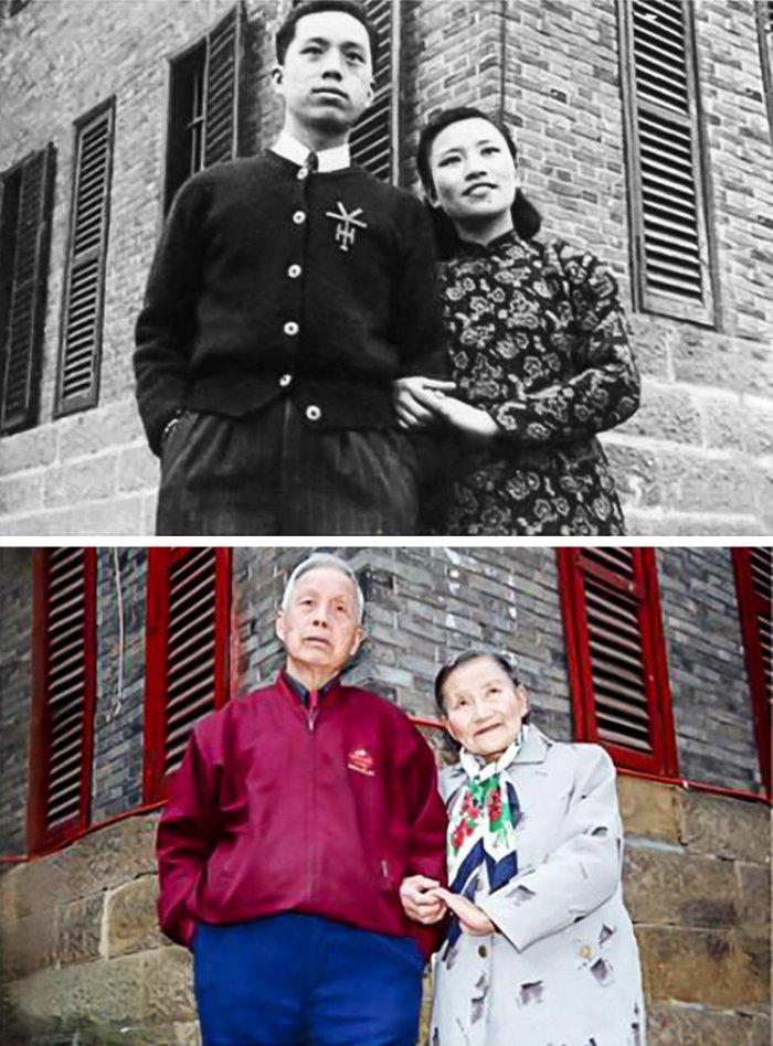 5 Evliliklerinin 70. yılında yeniden nikahlanan çift
