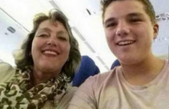 Düşen uçakta son selfie