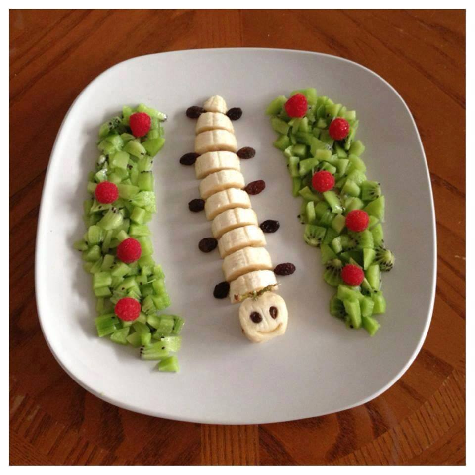 Eğlenceli meyve tabakları hazırlama